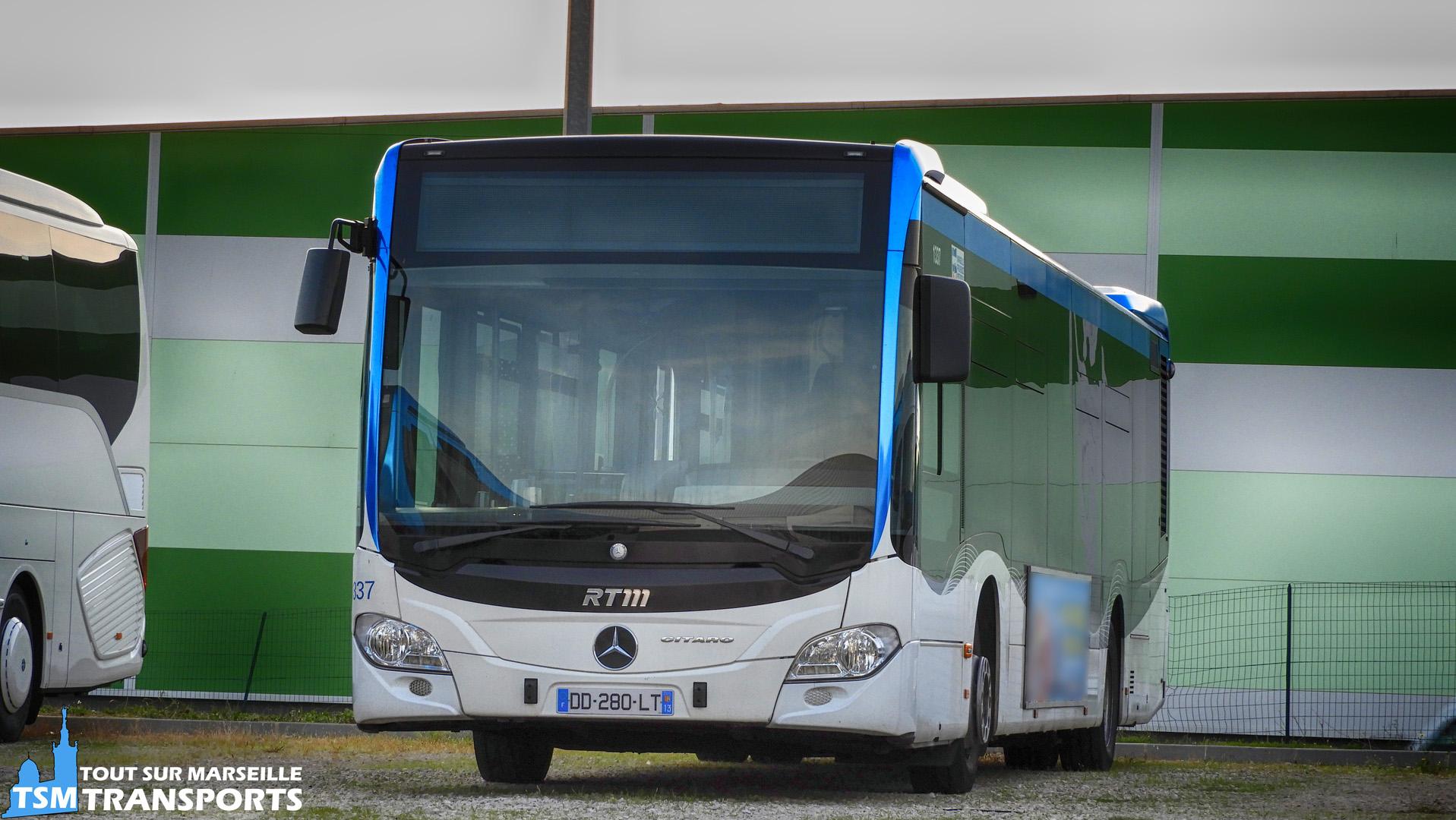 Mercedes Benz Citaro 2 Euro 6 appartenant a la première série de livraison de la RTM n°1337