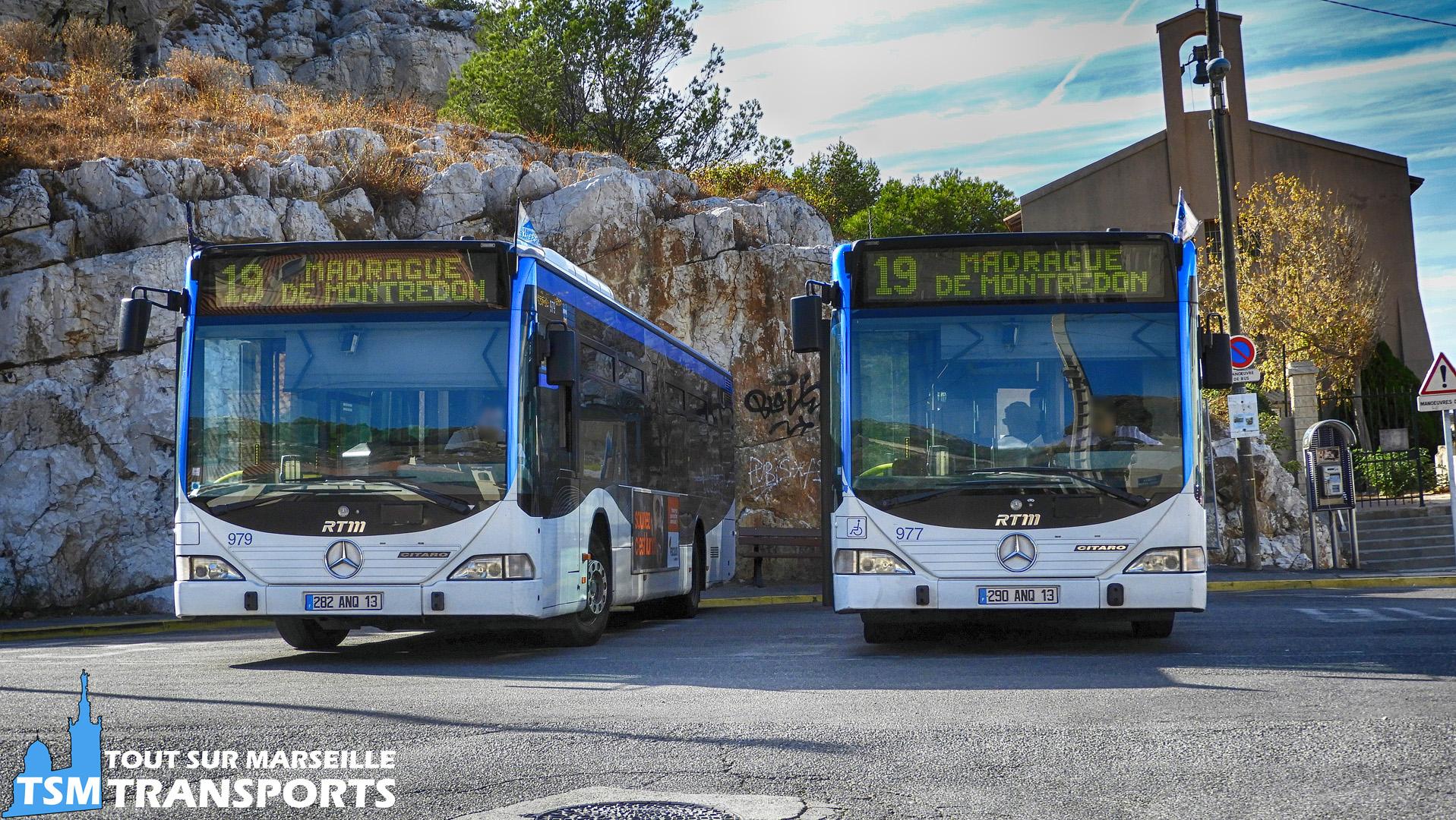 Mercedes Benz Citaro 1  RTM n°979 et 977