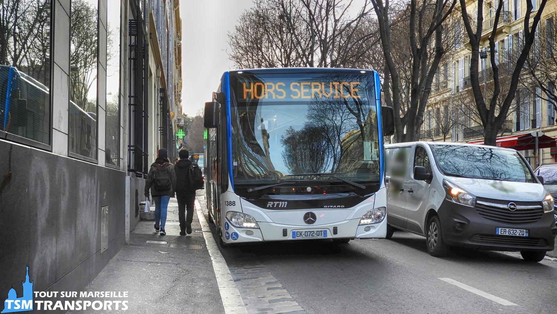 Mercedes Benz Citaro 2 Euro 6 RTM n°1388