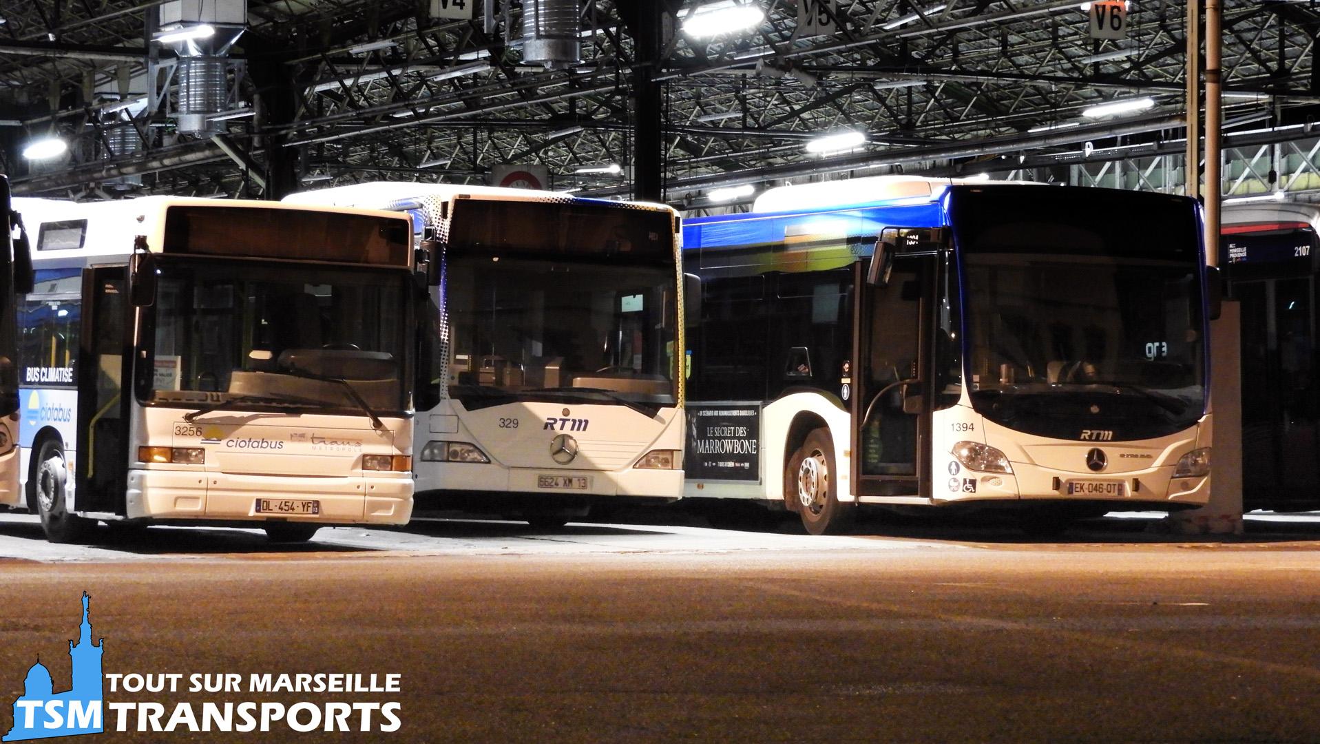 Heuliez Bus GX117 RTM Est Métropole, Mercedes Benz Citaro 1  RTM et Mercedes Benz Citaro 2 Euro 6 RTM