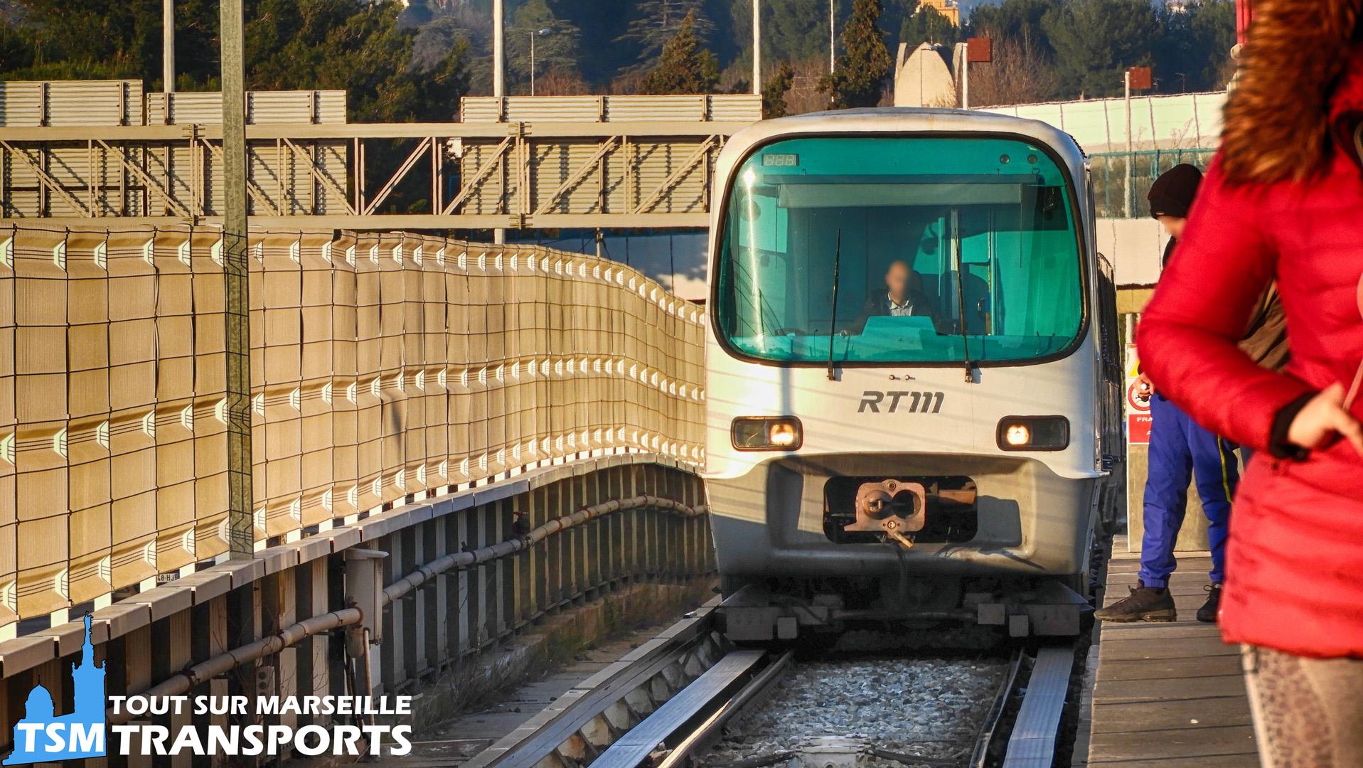 Alstom MPM76 RTM à la station Malpassé