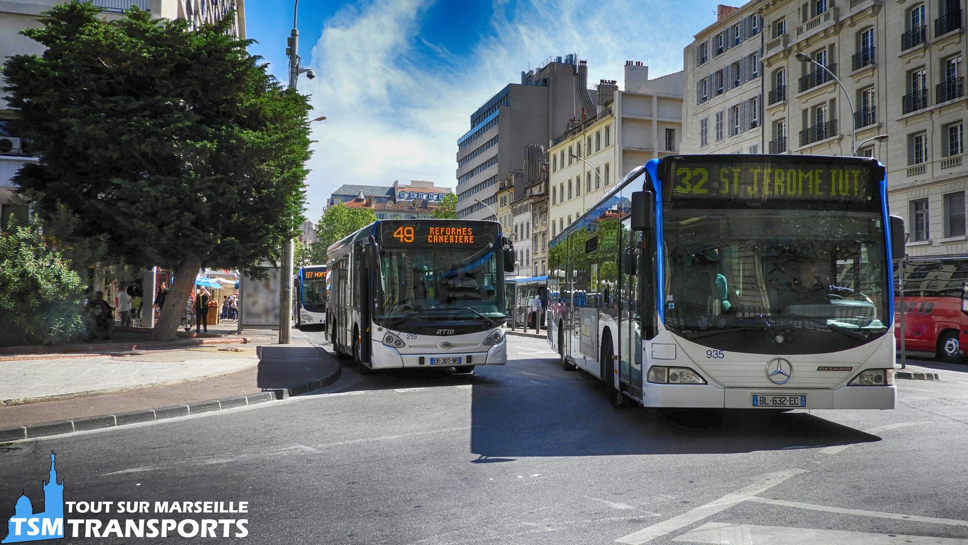 Heuliez Bus GX127 et Mercedes Benz Citaro 1 RTM