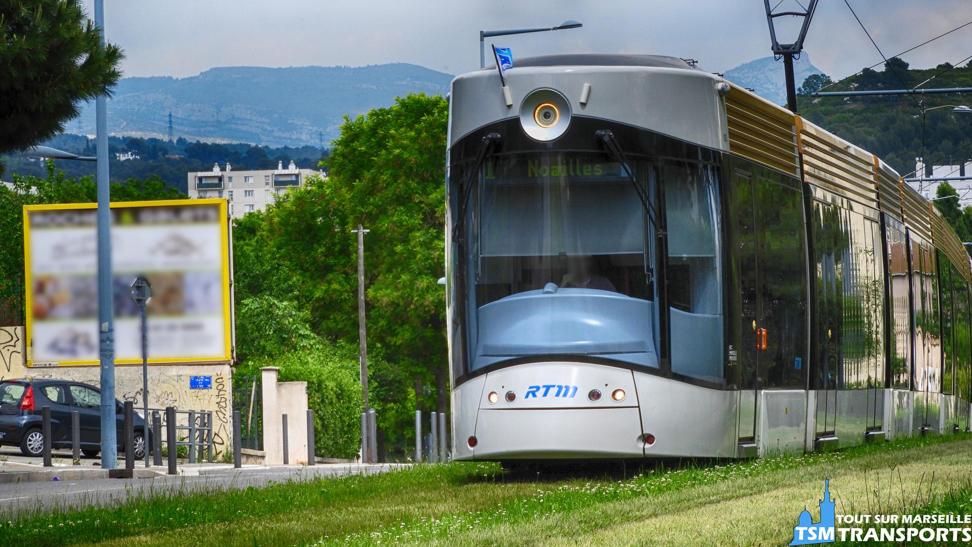 Bombardier Flexity Outlook Type C RTM dans le quartier des Caillols