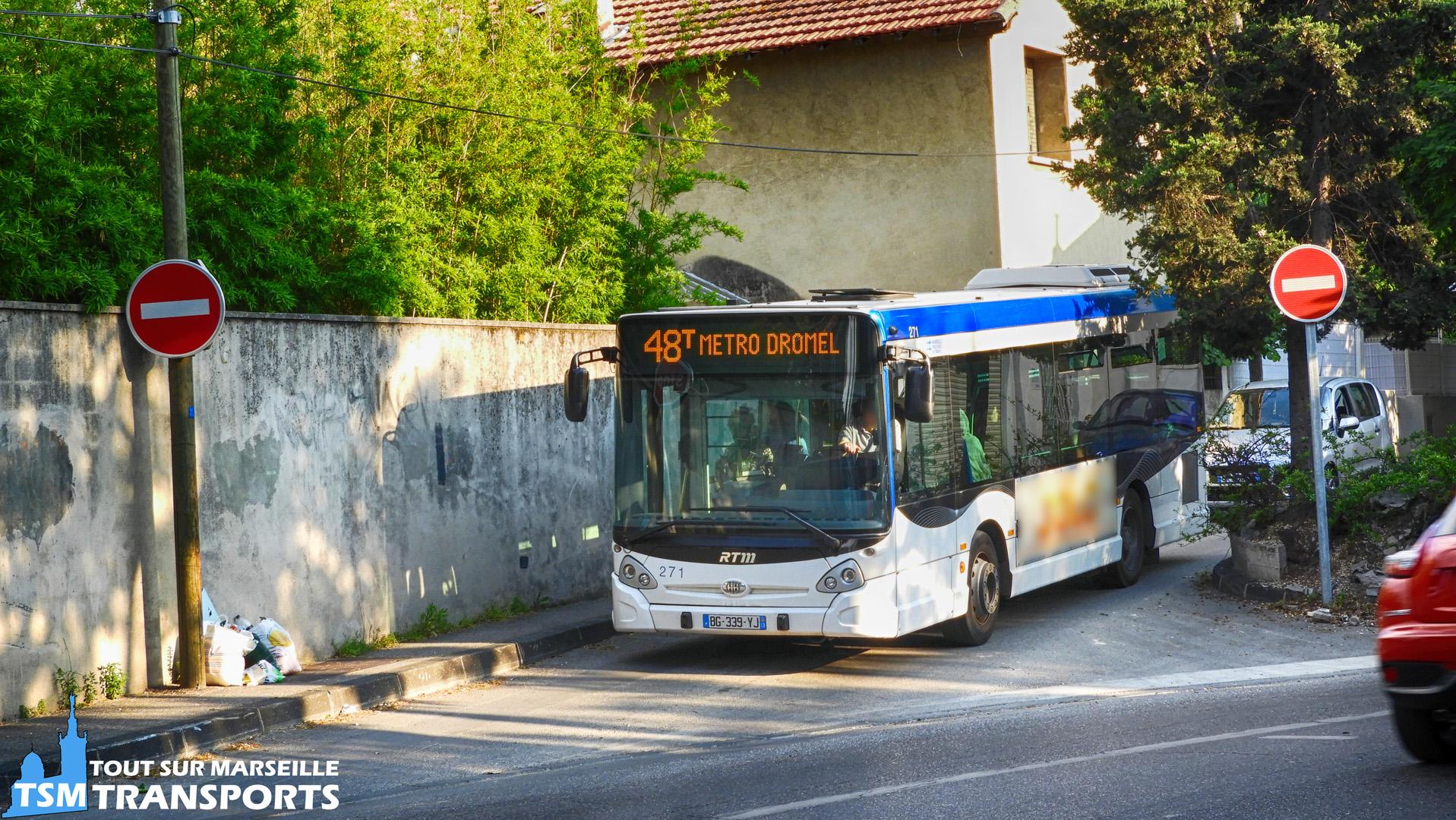 Heuliez Bus GX 127 RTM n°271