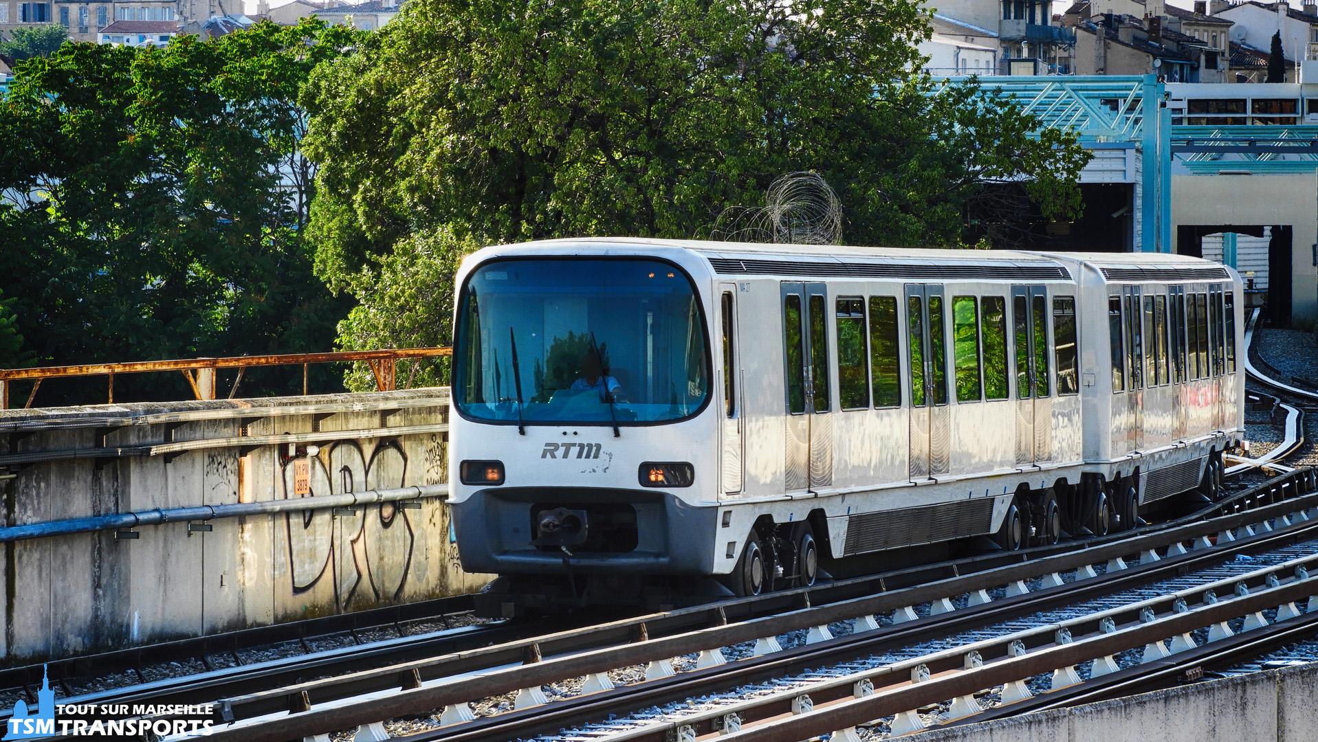Alstom MPM76 en manœuvre au dépôt Zoccola