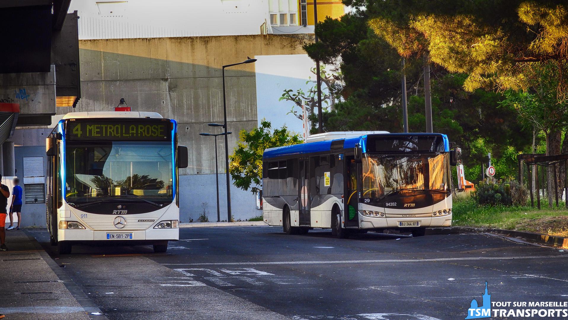 Mercedes Benz Citaro 1 RTM et Solaris Urbino 12 V3 Car Du Pays D'aix