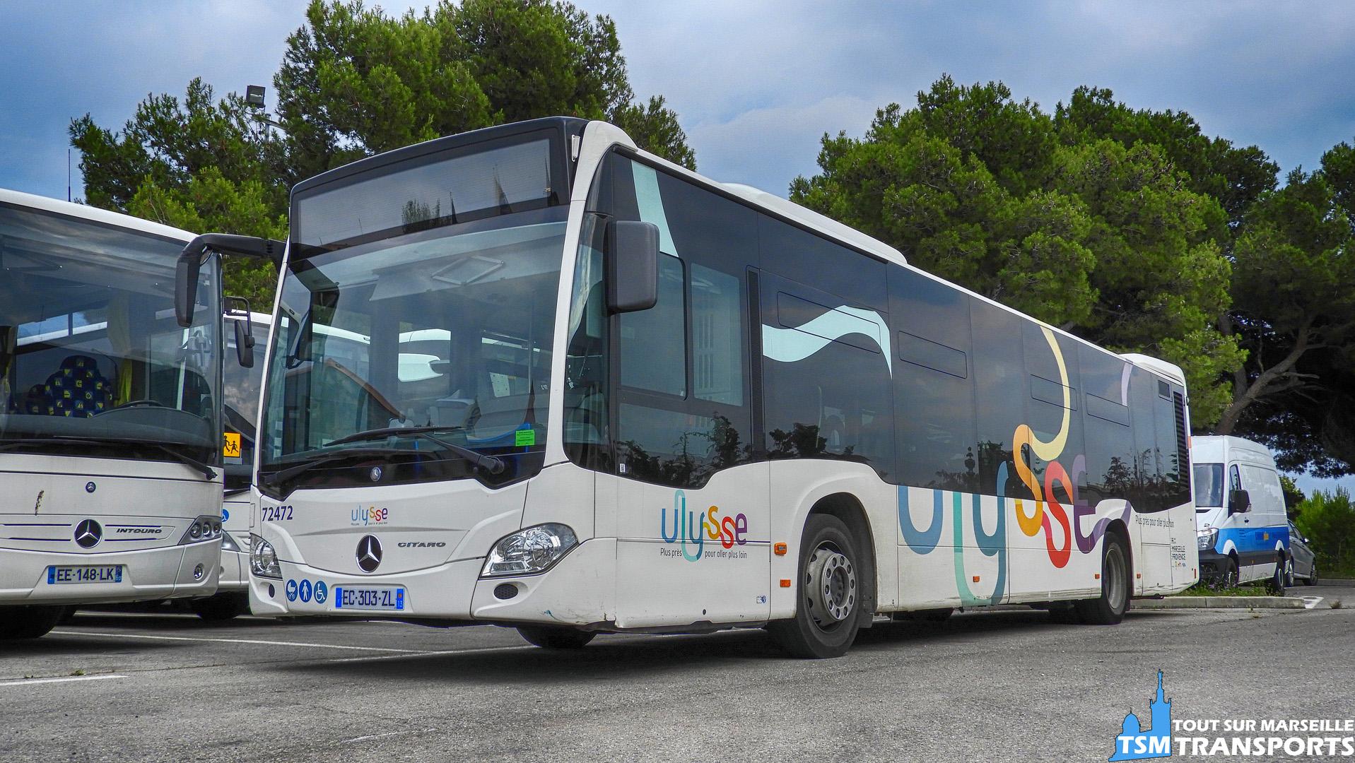 Mercedes Benz Citaro 2 Euro 6 de la société des Autocars Alizés(Filiale de Transdev)