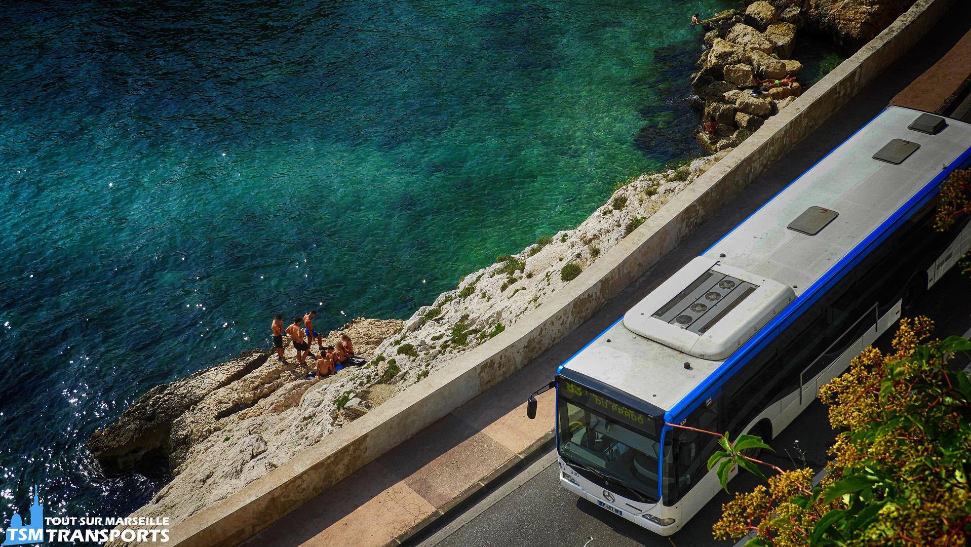 Mercedes Benz Citaro 1 RTM n°930 sur la Corniche