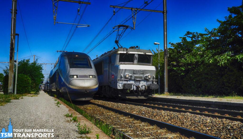 Alstom TGV Duplex et Alstom BB22200