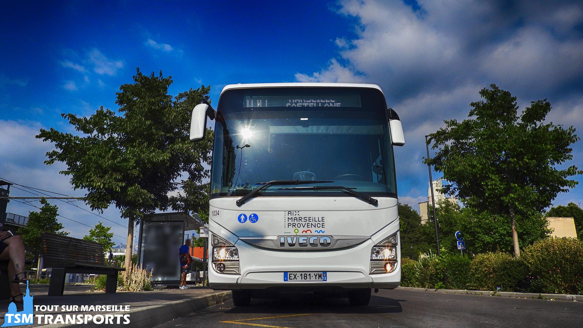 Iveco Crossway RDT13 sur la ligne 100
