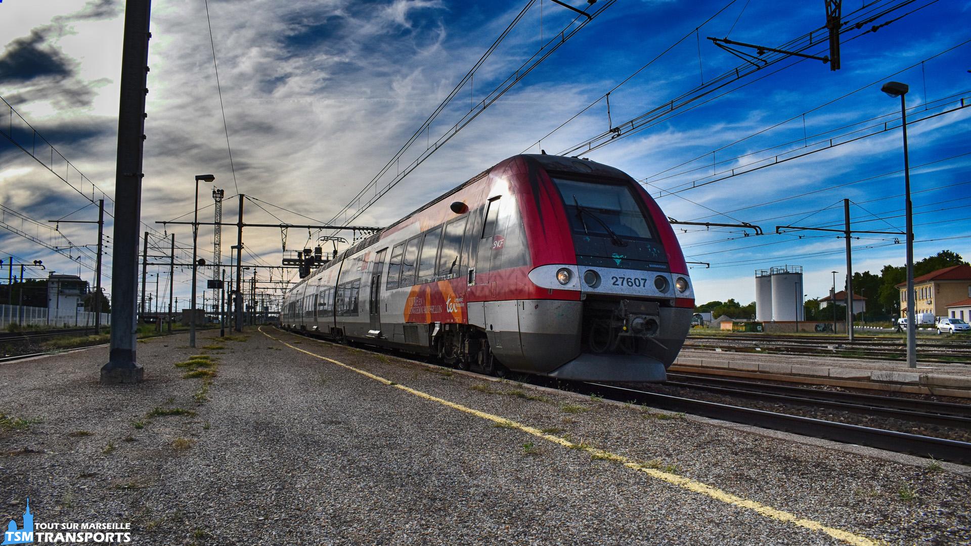 Bombardier AGC (Z27500) SNCF n°27607