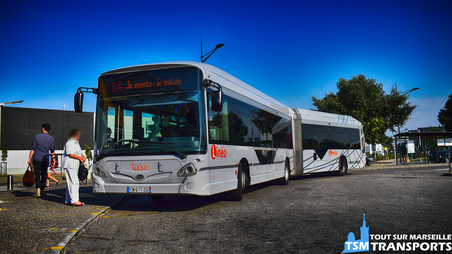 Heuliez Bus GX 427 BHNS sur la ligne 14 du réseau Tisséo