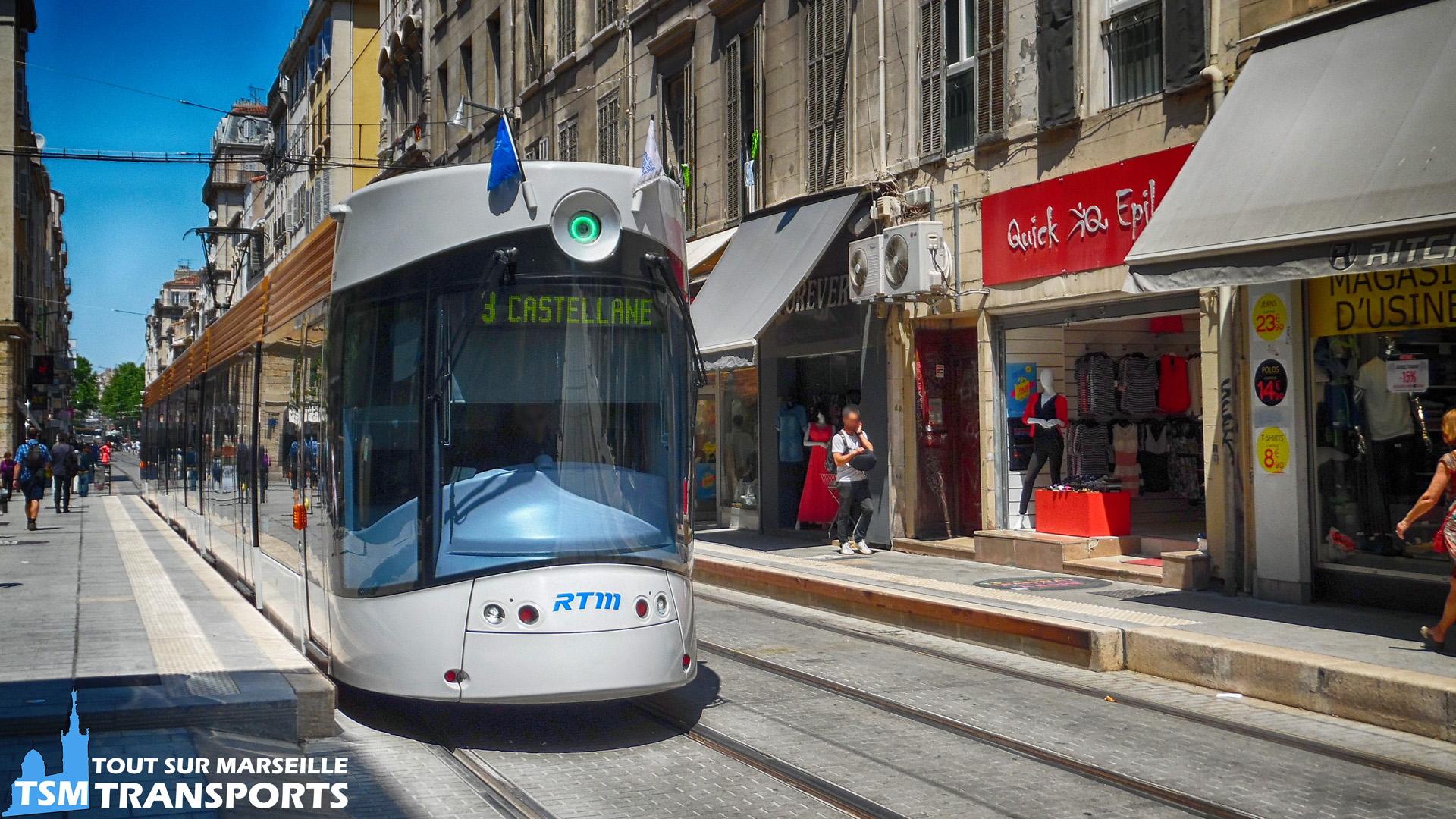 Bombardier Flexity Outlook Type C RTM sur la Rue de Rome