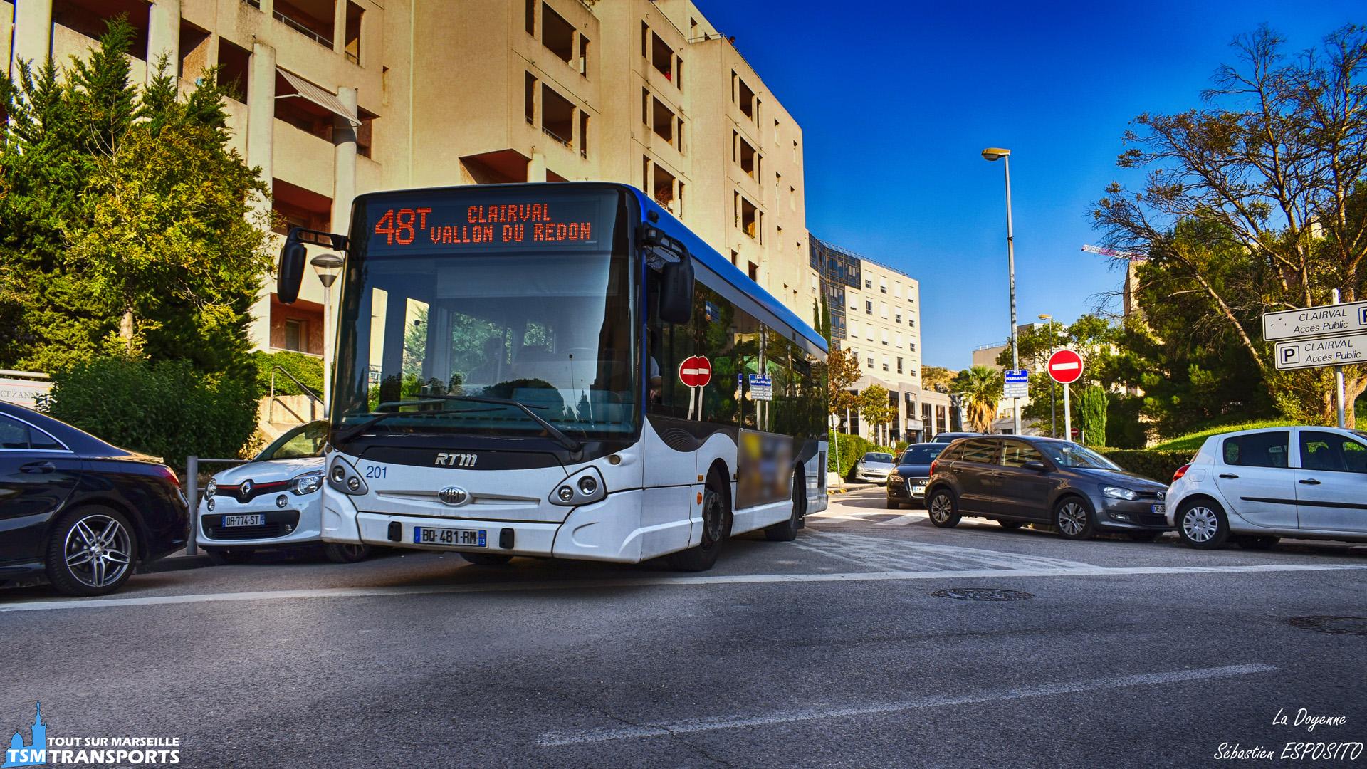 La 201, fameuse #doyenne des GX127 de la RTM, se présente à la sortie du Centre Médical Clairval sur la ligne dominicale 48T. . ℹ️ Heuliez Bus GX127 RTM n°201 en service sur la ligne 48T. . 📍 Croisement Rue Nicole Zemmour / Boulevard du Redon, Centre Médical Privé Clairval, 9eme arrondissement de Marseille. . ↔️ 48T : Métro Sainte Marguerite - Clairval Vallon du Redon. . 📸 Nikon D5600. . 📷 Nikkor 18-55mm. . 📅 21 octobre 2018 à 16:40. . 👨 Sébastien ESPOSITO.