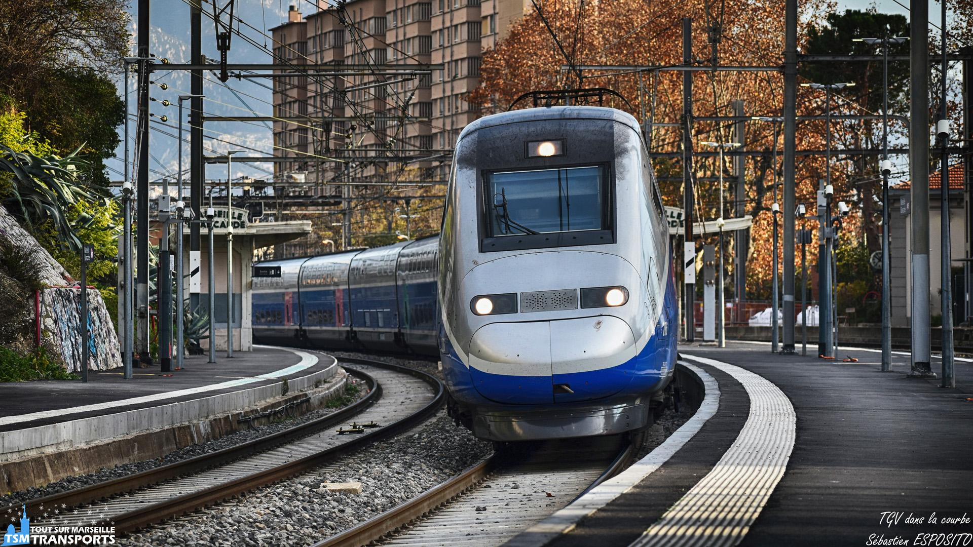 TGV dans la courbe 🛤️
