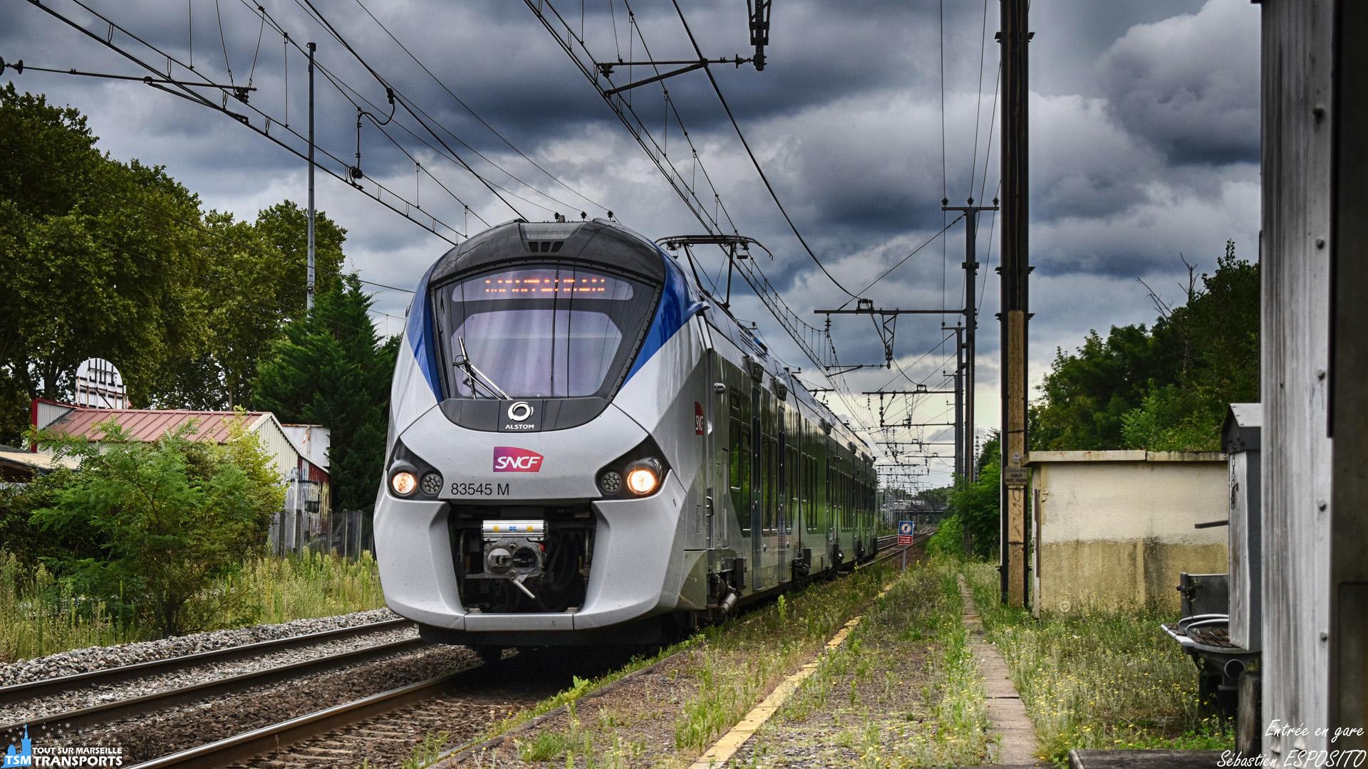 Gare de Lacourtensourt, 12:33, pas de Simone pour nous dire de nous éloigner de la bordure du quai, car nous sommes dans un point d'arrêt non géré, cependant je m'étais déjà écarté dès que j'ai aperçu au bout de la ligne droite, ce regiolis qui aura pour terminus Montauban. . ℹ️ Alstom Regiolis Bimode B83500 (B83545M). . 📍 Gare de Lacourtensourt, Avenue des États Unis, 31200 Toulouse. . ↔️ TER 871616 : Toulouse Matabiau - Montauban Ville bourbon. . 📸 Nikon D5600. . 📷 Nikkor 18-55mm. . 📅 9 Août 2018 à 12:33. . 👨 Sébastien ESPOSITO.