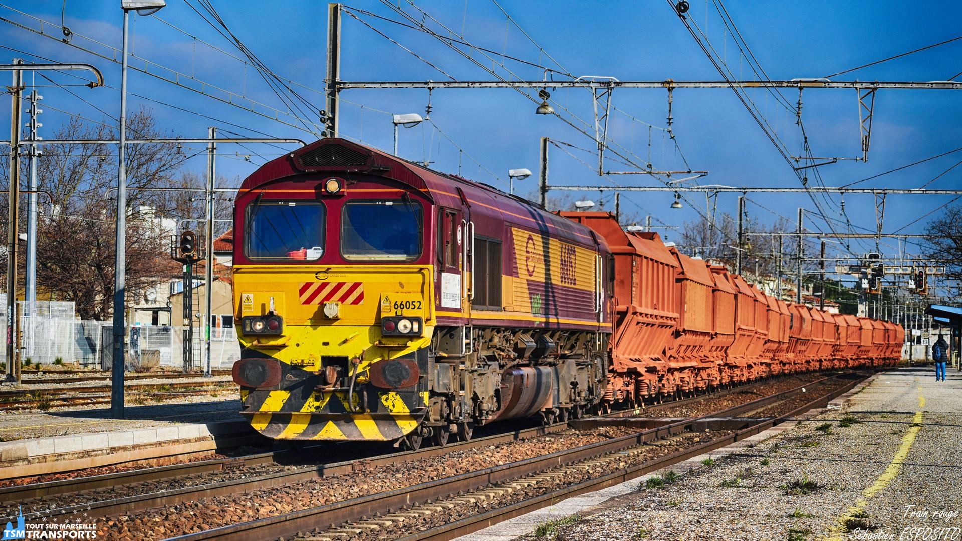 Train rouge 🔴